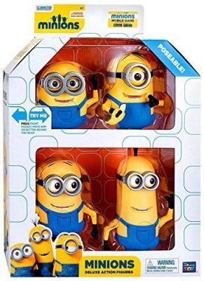 Despicable Me Minions Movie Deluxe Action Figure 4-Pack