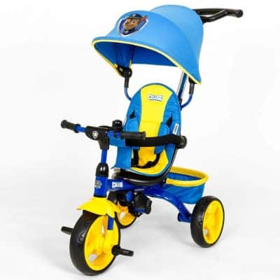 KidsEmbrace Paw Patrol Chase 4-in-1 Tricycle