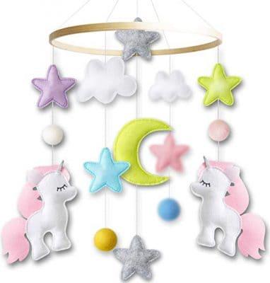 Mobile Giftsman Unicorn Nursery Design