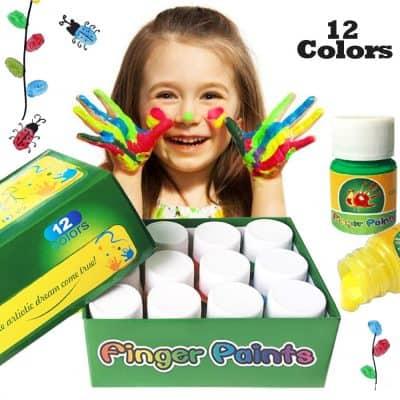 Happlee Washable Kids Fingerpaint