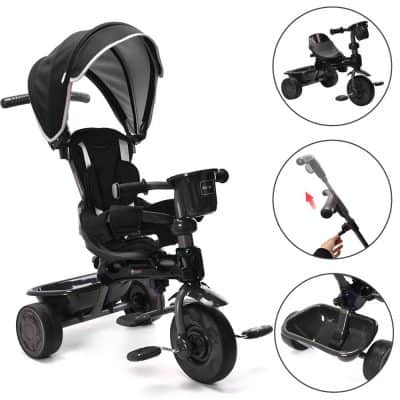 ChromeWheels 4-in-1 Kids' Trike and Stroller