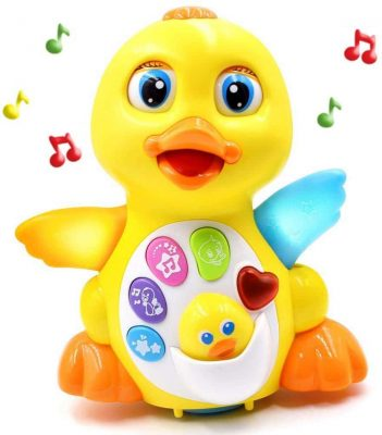 Fantastic Zone Light Up Dancing and Singing Musical Duck