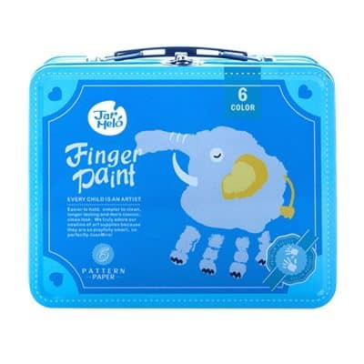 Jar Melo Children's Finger Paint Kit