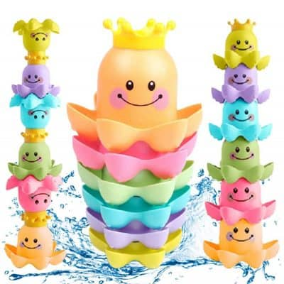 Conquer Baby Waterfall Octopus Stacking Cups