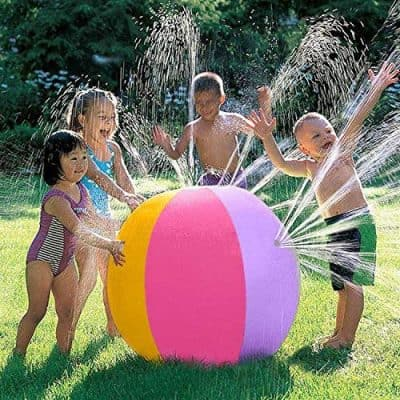 iYOYO Inflatable Water Sprinkler Ball