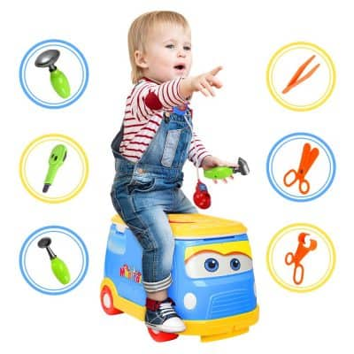 WolVol Ride-on Doctor Play Set