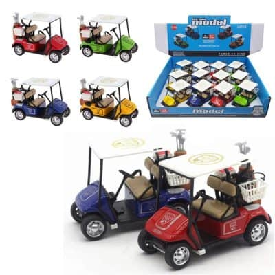 Liberty Imports Die-cast Metal Golf Cart Model Toy