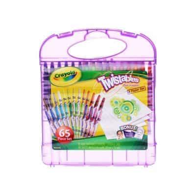 Crayola 04-2705 Mini Twistable Crayons & Paper Set