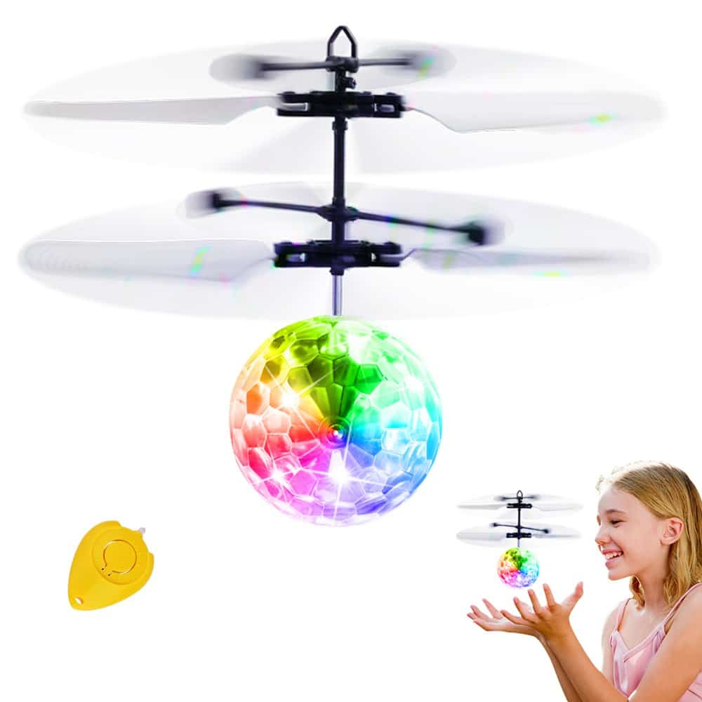 Pull String Handle Educational Helicopter Fun Outdoor Toys Children Xmas Gift ID