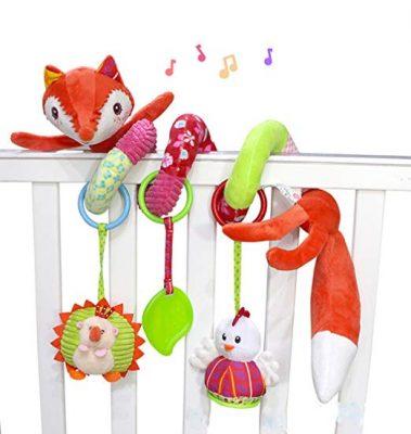SKK Baby Plush Stroller Activity