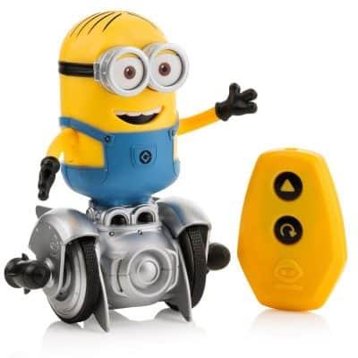 WowWee Mini Minion MiP Turbo Dave – Miniature Remote – Controlled Robot Toy