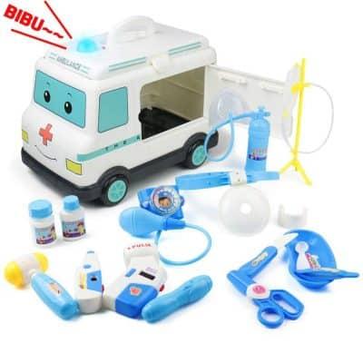 Fajiabao Doctor Kit for Kids Medical Set Ambulance