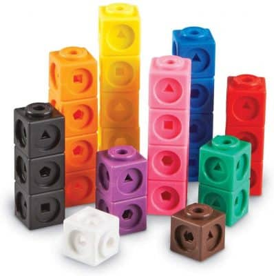 Learning Resources Mathlink Cubes Counting Toy