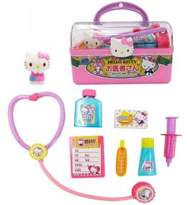 Hello Kitty Doctor Set with Case and Various Equipment