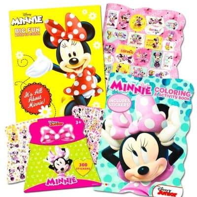 Disney Minnie Coloring Stickers