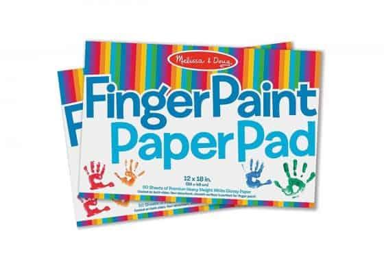 Melissa & Doug Fingerpaint Paper Pad