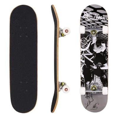 "Hikole Skateboard 31"" x 8"" Complete Pro Skateboard"