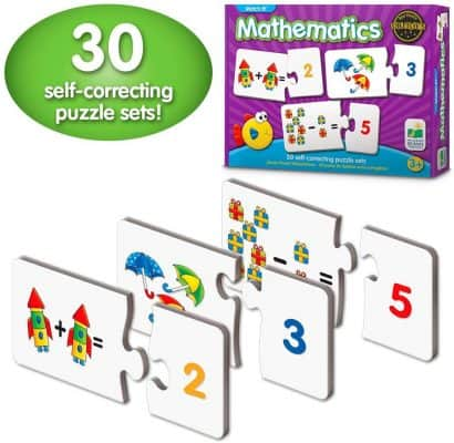 The Learning Journey 30 Self-Correcting Puzzle Set