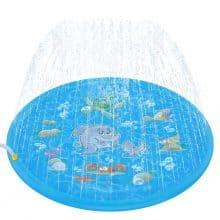 Tobeape 68 Inch Sprinkle and Splash Play Mat