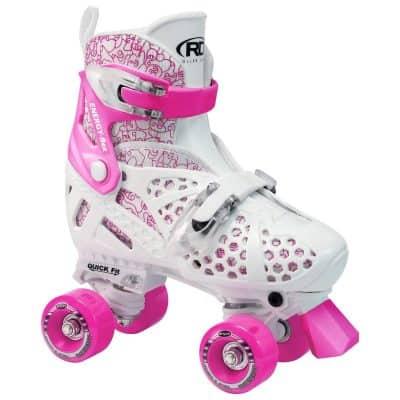 Roller Derby Girls' Trac Star Adjustable Roller Skate