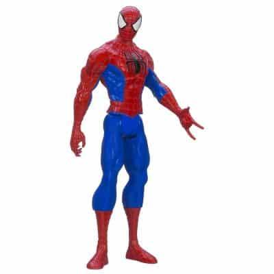 Marvel Ultimate Spider-Man Titan Hero Series Spider-Man Figure, 12 Inch