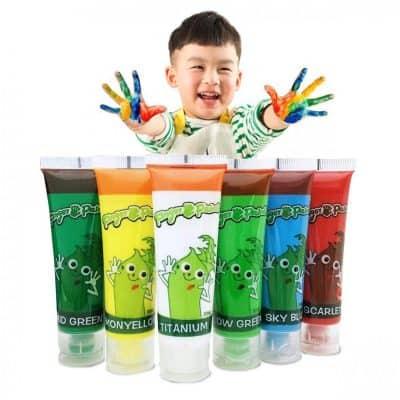 Hapree Washable Finger Paint Kids Paint Set