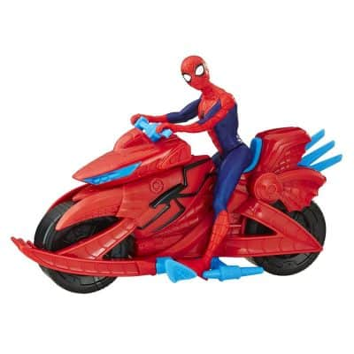 Spider Man Marvel Figure with Cycle