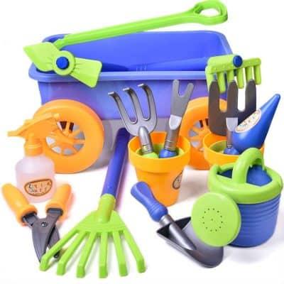 Fun Little Toys Kid's Garden Tool Toys Set