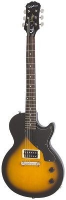 Epiphone LP Junior Solid-Body Electric Guitar, Vintage Sunburst