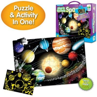 The Learning Journey Puzzle Doubles: Glow in The Dark
