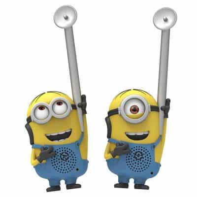 Minions From Despicable Me Dave and Stuart Character Walkie Talkies