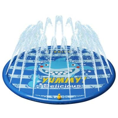 Kyerivs Water Play Mat Sprinkler