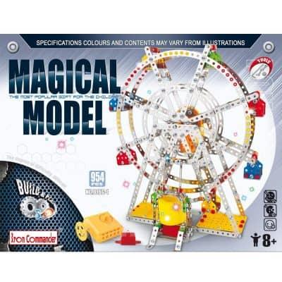 IRON COMMANDER Ferris Wheel Toy Metal Building Set