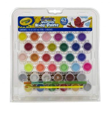 Crayola Kid's Washable Paint Set