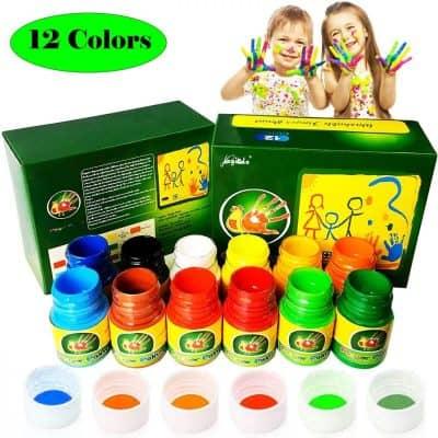 Magicdo Washable Finger Paint Kit for Kids