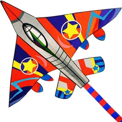 The Colorful Life Fighter Plane Kite for Kids and Adults Kite