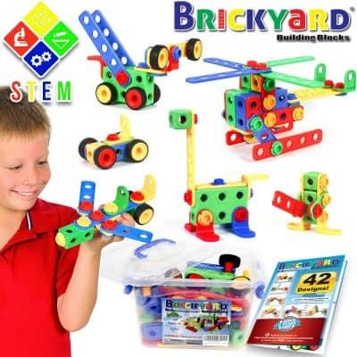 163 Piece STEM Toys Kit
