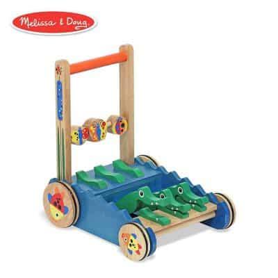 Mellisa & Doug Chomp and Clack Alligator Push Toy