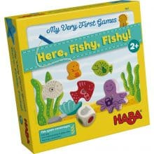 HABA My Very First Games- Here Fishy Fishy Magnetic Fishing Game