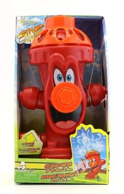 Fun Splashes Fire Hydrant Water Sprinkler for Kids