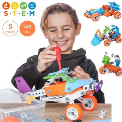 Toy Pal 146 Piece Educational Engineering Building Toys Set