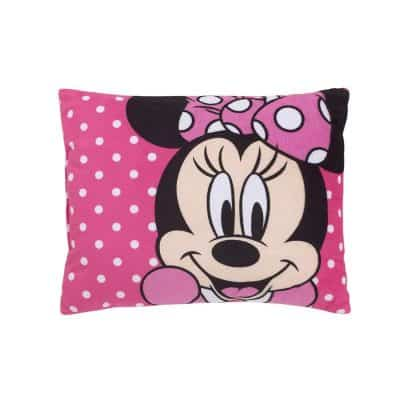 Disney Mouse Bright Pink Decorative Toddler Pillow