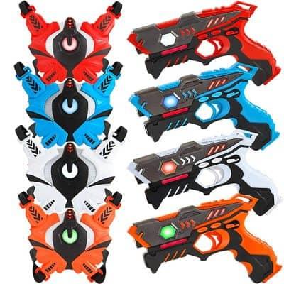 LUKAT Laser Tag Guns Set of 4 Player