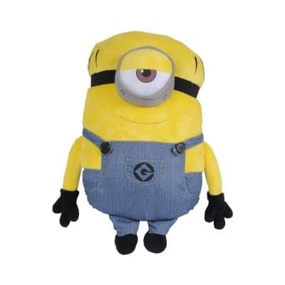 Universal Despicable Me Minions Mel Character Shaped Soft Plush Cuddle Pillow