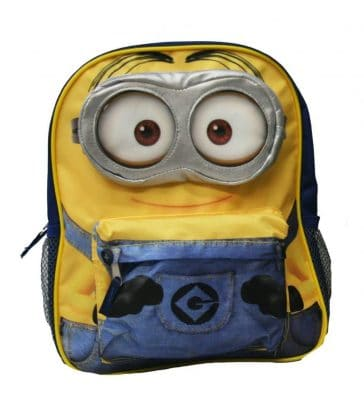 """Despicable Me 2 – 12"""" Minion Backpack"""