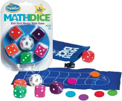 Think Fun Math Dice Junior Game