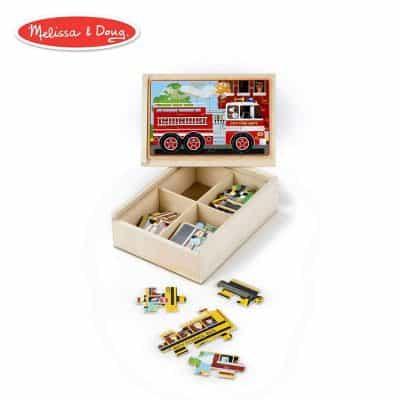 Melissa & Doug Vehicles Jigsaw Puzzles