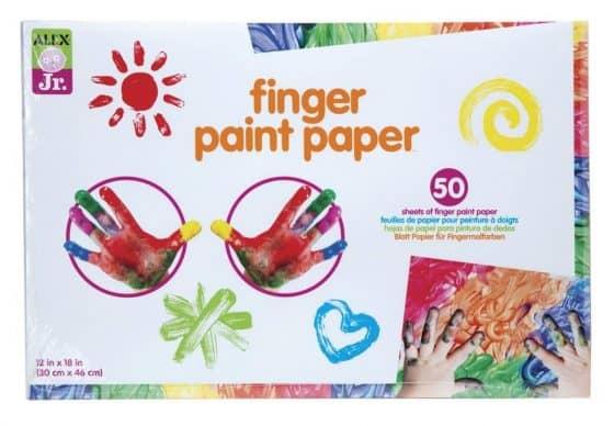 ALEX Jr. Finger Paint Paper