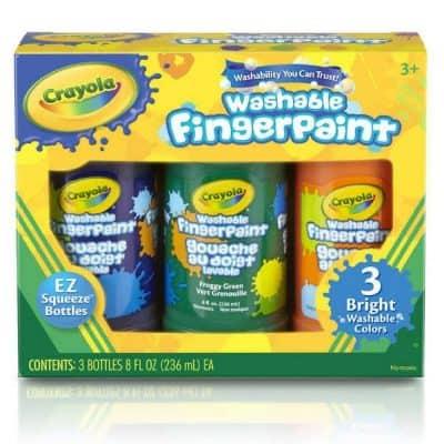 Crayola Washable Bright Fingerpaint