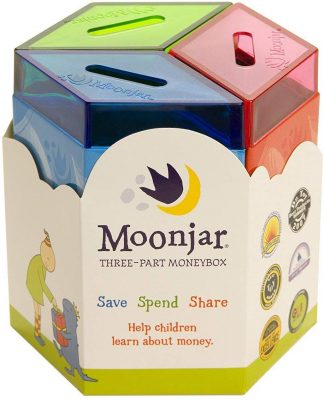 Moonjar Three-Part Moneybox